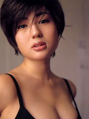 Petite asian hottie in luscious lingerie and cute pigtails