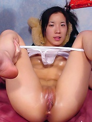 Lucky guy gets his asshole licking hard by sluty Almond Tease
